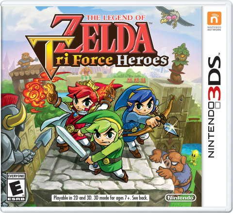 In The Legend of Zelda: Tri Force Heroes, available for the Nintendo 3DS family of systems on Oct. 2 ...