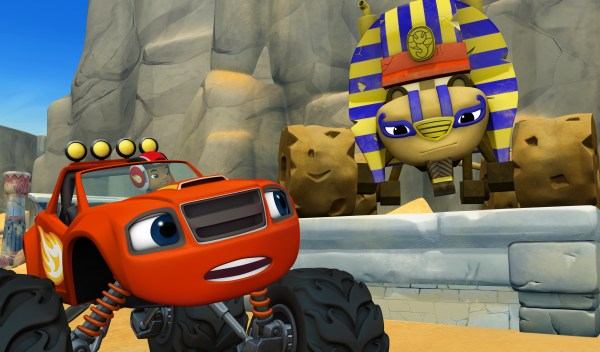 Nickelodeon Presents Epic Blaze And Monster Machines
