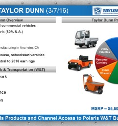 polaris acquires taylor dunn business wire 2497631 taylordunn 3 7 16 f 281 29 polaris acquires taylor dunn business wire taylor dunn wiring [ 3300 x 1856 Pixel ]