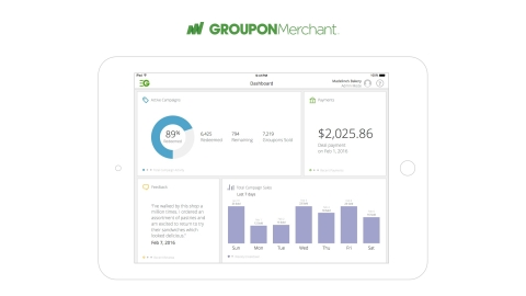 Groupon Expands Merchant Platform, Providing Local