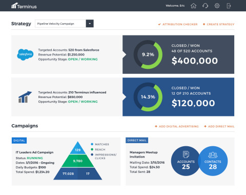 The Account Hub from Terminus is the latest product innovation for the industry's leading account-ba ...