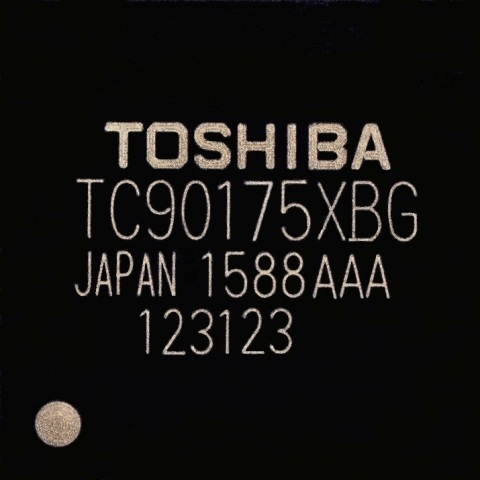 "Toshiba: A new video processor ""TC90175XBG"" that realizes display on Full HD for high resolution aut ..."