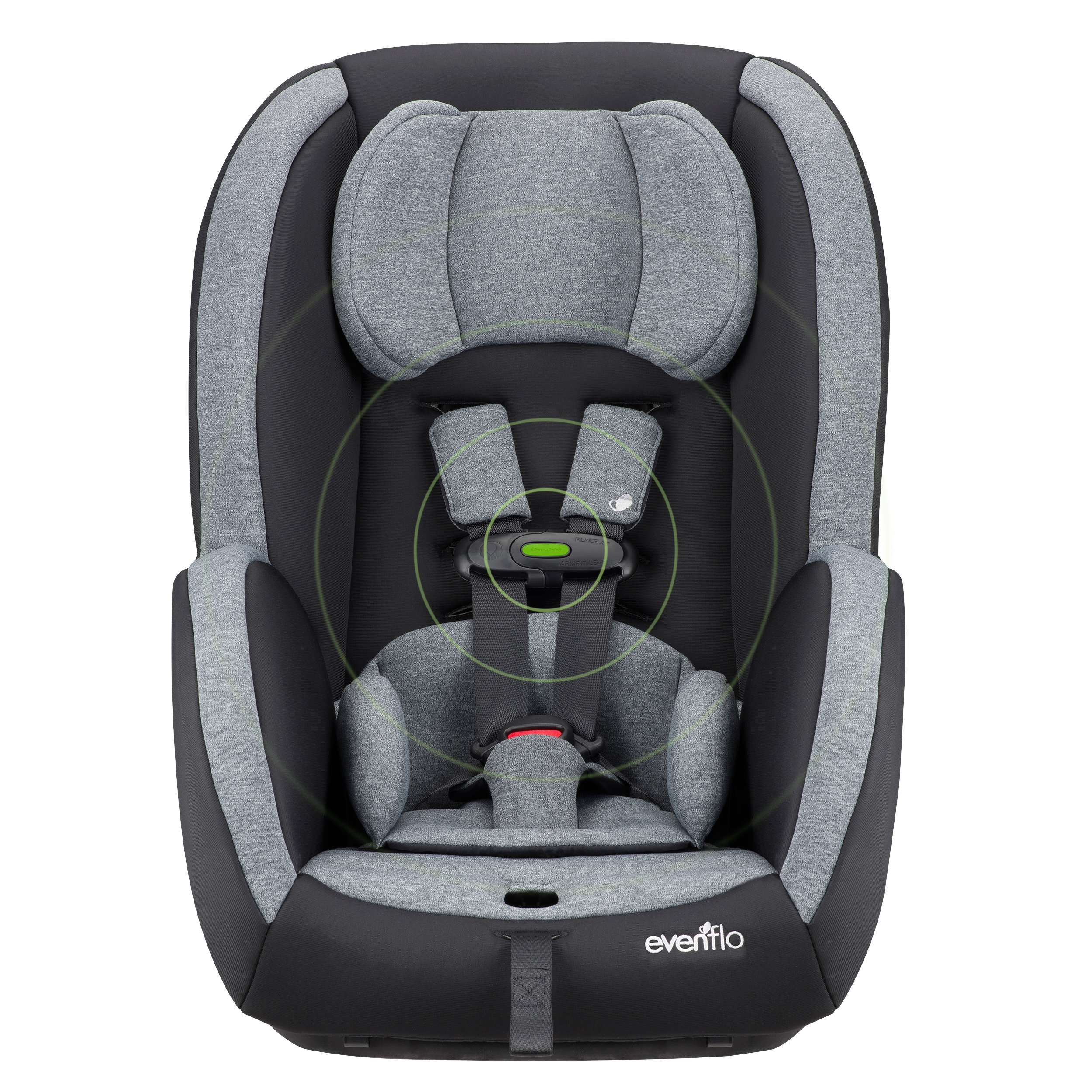 medium resolution of walmart and evenflo buckle up for safety and introduce new sensorsafe titan convertible car seat business wire