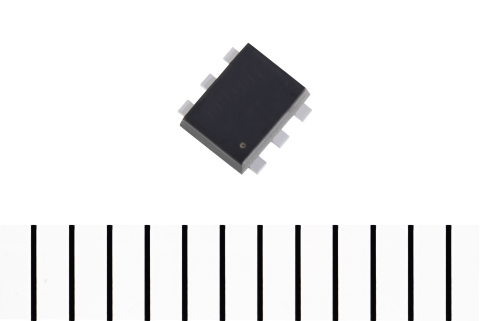 Toshiba: Low On-resistance MOSFET for Load Switches in Mobile Devices Utilizing a High Power Dissipation, Small-size Package: SSM6J801R (Photo: Business Wire)