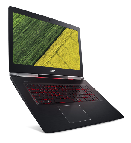 The Aspire V 17 Nitro is the first laptop to bring together Tobii's eye tracking technology and Micr ...