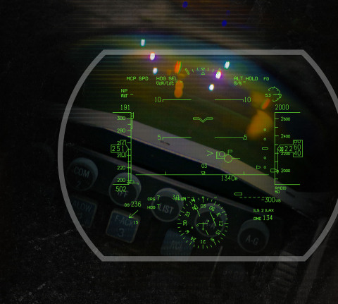 BAE Systems will modernize the F-22 Raptor's head-up display with its Digital Light Engine technology. (Photo: BAE Systems)