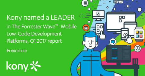 Independent research firm, Forrester, just published a new report on Mobile Low-Code App Development ...