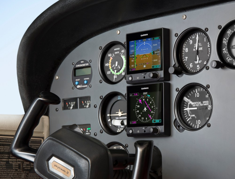 medium resolution of garmin introduces the g5 electronic flight instrument as a dg hsi in certificated aircraft business wire