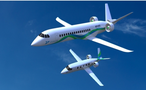 Zunum Aero, backed by Boeing and JetBlue Technology Ventures, is developing hybrid-electric aircraft ...