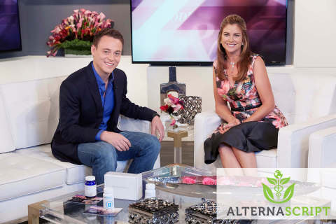 Lucas Siegel (CEO, AlternaScript) and Kathy Ireland (Supermodel and Entrepreneur) discuss AlternaScr ...