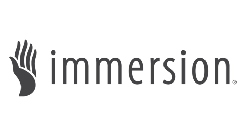 Immersion Signs License Agreement With Realtime Adding