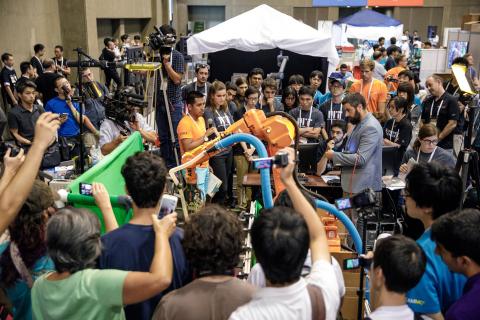 The 2017 Amazon Robotics Challenge. (Photo: Business Wire)