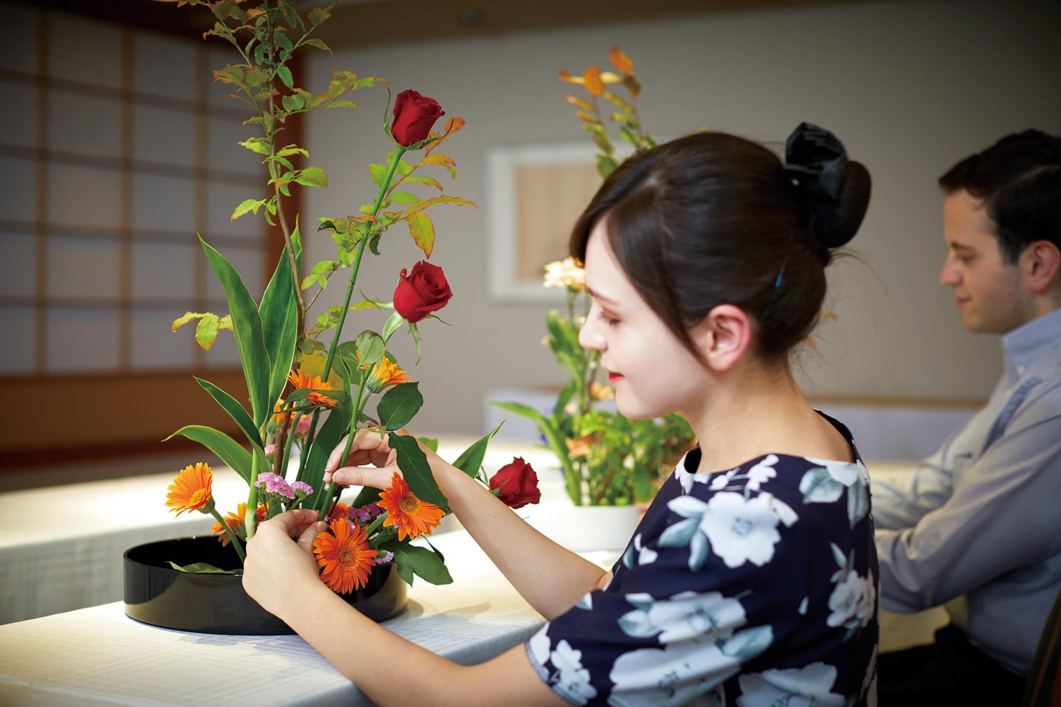 Keio Plaza Hotel Tokyo Gibt Workshops Die Ikebana
