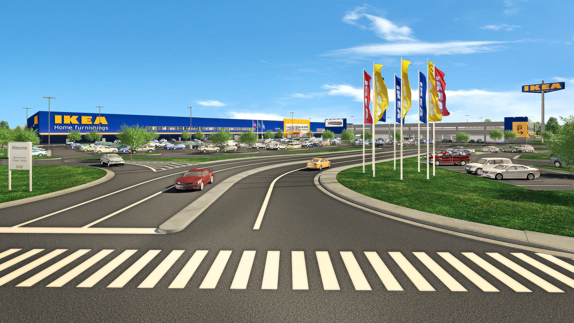 Swedish Home Furnishings Retailer Ikea Secures Contractors