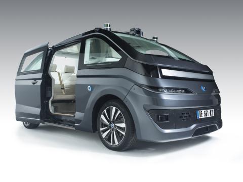 La AUTONOM CAB entièrement autonome et alimentée par énergie électrique de NAVYA