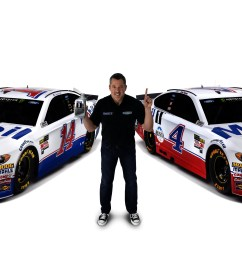 mobil 1tm and stewart haas racing gear up for the 2018 nascar season full size  [ 6670 x 1980 Pixel ]