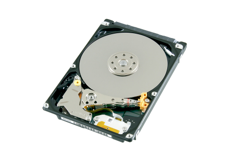 "Toshiba: MQ04 Series 2TB HDD model ""MQ04ABD200"" for client storage applications. (Photo: Business Wi ..."