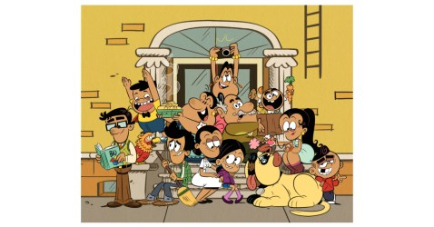 Nickelodeon Developing Los Casagrandes New Companion Series to Animated Hit The Loud House Business Wire