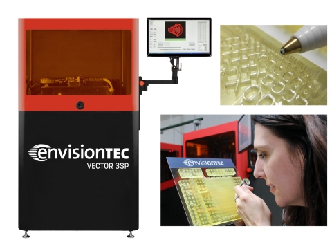 At RAPID + TCT, the premier event for 3D printing in North America, EnvisionTEC will be showcasing t ...