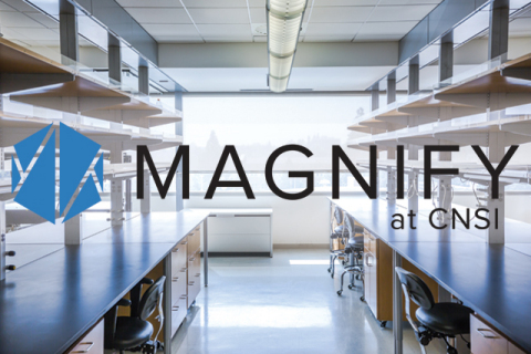 Magnify at CNSI provides startup companies with the necessary tools and space to perform hands-on re ...