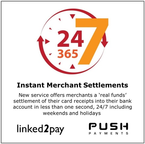 Instant merchant settlements are available around the clock and even on holidays. (Graphic: Business ...