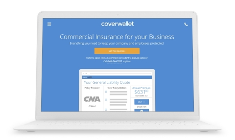 The CoverWallet platform is the easiest way for small businesses to understand, buy and manage insur ...