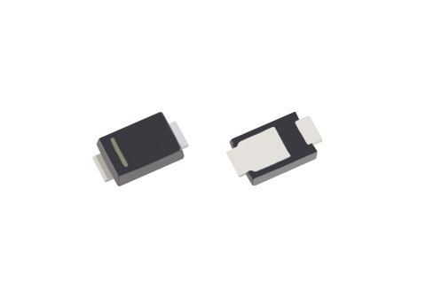 "Toshiba: A new Schottky barrier diode product ""CUHS10F60"" in a new US2H package. (Photo: Business Wi ..."