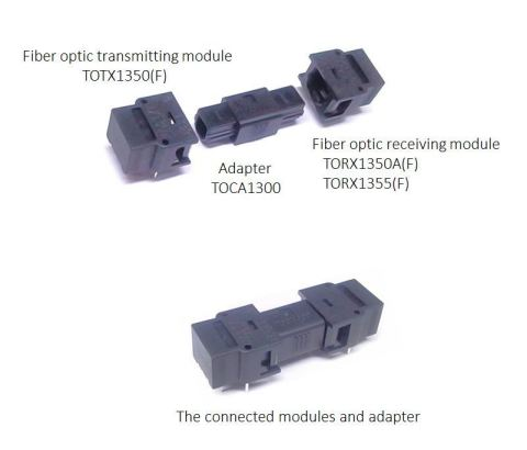 """Toshiba: An adapter """"TOCA1300"""" for unidirectional optical modules for short distance data transmissi ..."""