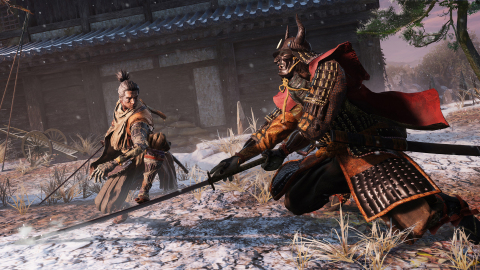 In Sekiro: Shadows Die Twice, players wield the protagonist's prosthetic arm and its various mechanisms to gain an advantage. The brand-new game is launching on March 22, 2019 on Xbox One, PlayStation®4 and PC. Pre-orders for the Collector's Edition kick off starting today at select retailers. (Photo: Business Wire)