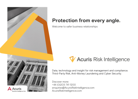 C6 Intelligence rebrands as Acuris Risk Intelligence (Photo: Business Wire)