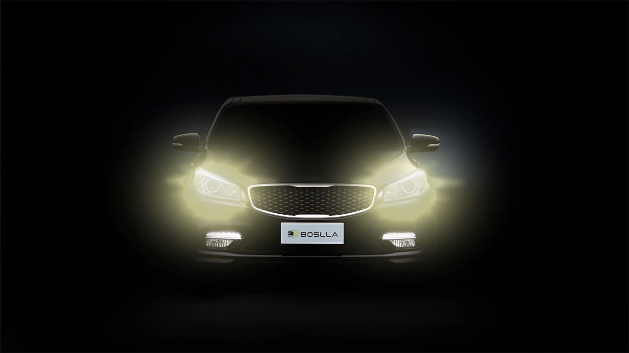 hight resolution of boslla the world s first four color led headlight bulb works perfectly in all wweather