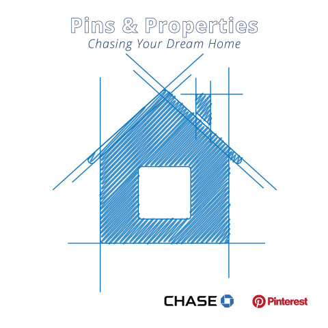"""Chase and Pinterest have partnered on the report """"Pins & Properties: Chasing Your Dream Home,"""" looki ..."""