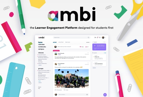 By creating a Learner Engagement Platform designed for students first, ambi's mission is to empower  ...