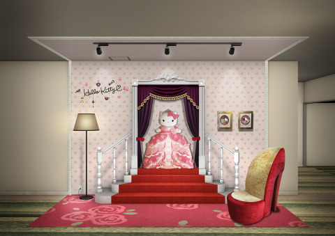 """In Keio Plaza Hotel Tama, a new photo spot based upon the motif of """"Princess Kitty"""" will be created  ..."""