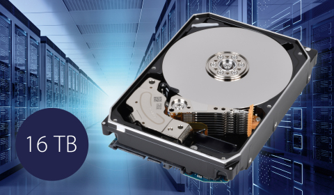 Toshiba: 16TB MG08 series hard disk drives, the industry's largest capacity Conventional Magnetic Re ...