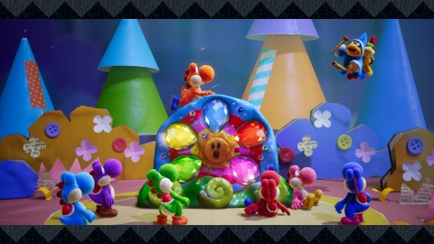 Yoshi's Crafted World, a new adventure and the first game starring Yoshi for Nintendo Switch, launch ...