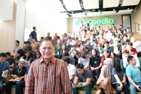 President Commissioner of Tokopedia, Agus Martowardojo. (Photo: Business Wire)