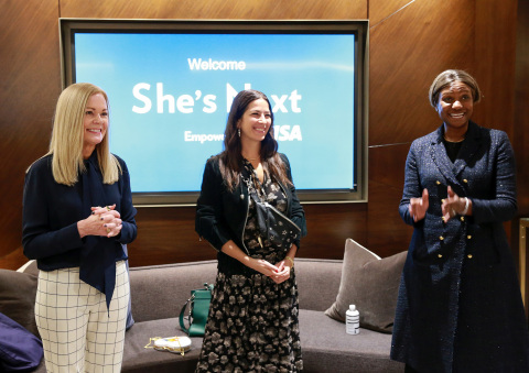 Visa unveils a global initiative to champion women-owned small businesses everywhere: She's Next, Em ...
