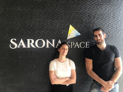 From left to right: Toot Shani, CEO at 365x, Nadav Dakner, CEO and Founder of InboundJunction. (Phot ...
