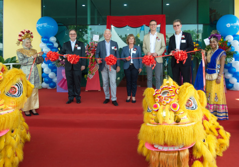 VITRONIC Malaysia - ribbon-cutting at the grand opening (Photo: Business Wire)
