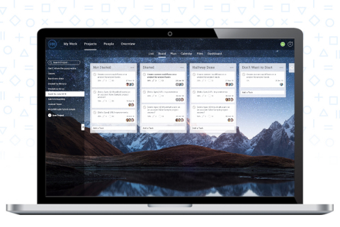 Kanban boards on the new version of ProjectManager.com. (Photo: Business Wire)
