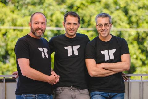 Torii co-founders from left to right: Uri Haramati, CEO; Tal Bereznitskey, CTO; Uri Nativ, VP Engine ...