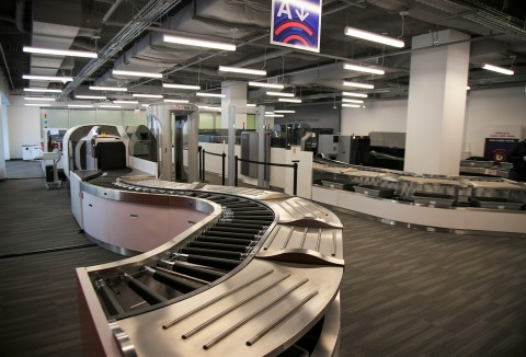 The latest security checkpoint in operation at L3's new Experience Center (Photo: Business Wire)