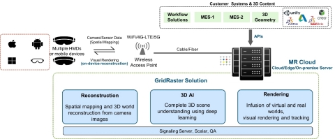System Overview of GridRaster MR Cloud Platform (Graphic: Business Wire)
