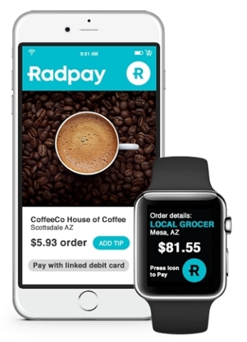 Radpay's Digital Wallet Now Includes Patent-Pending Fraud Resistance (Photo: Business Wire)