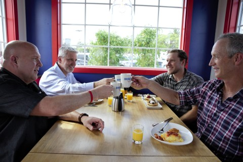 """Created in partnership with A&E's """"Tiny House Nation,"""" the Tiny IHOP is a mere 170 square feet and equipped with a functional kitchen. Fans of IHOP can unlock access to dine in the Tiny IHOP by signing up for its MyHOP email club by Oct. 20, 2019. (Photo: Business Wire)"""