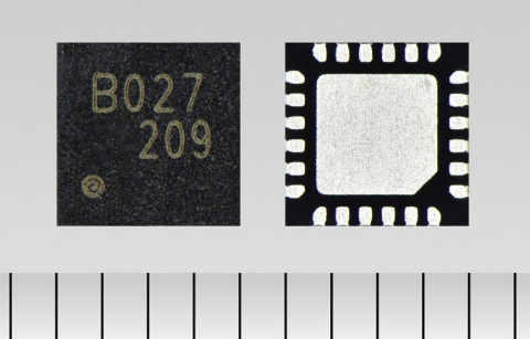 "Toshiba: a three-phase brushless motor control pre-driver IC ""TC78B027FTG"" for applications such as high-velocity server fans. (Photo: Business Wire)"