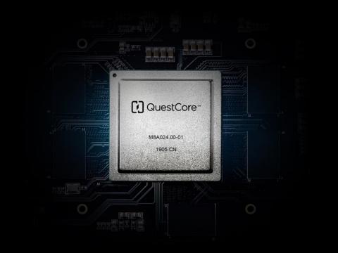 YITU AI chip QuestCore TM (Photo: Business Wire)