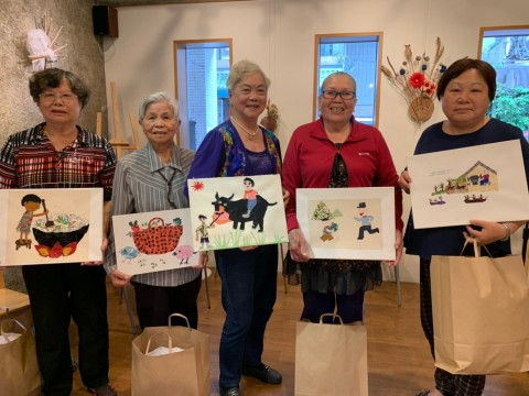 Hualien Elders Assemble Local Memories into Art (Photo: Business Wire)