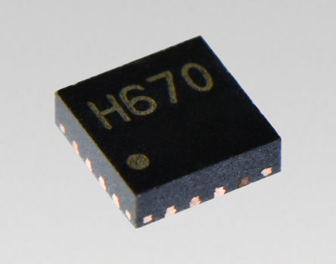 "Toshiba: Compact, low power, high resolution micro-stepping motor driver ""TC78H670FTG"" (Photo: Business Wire)"